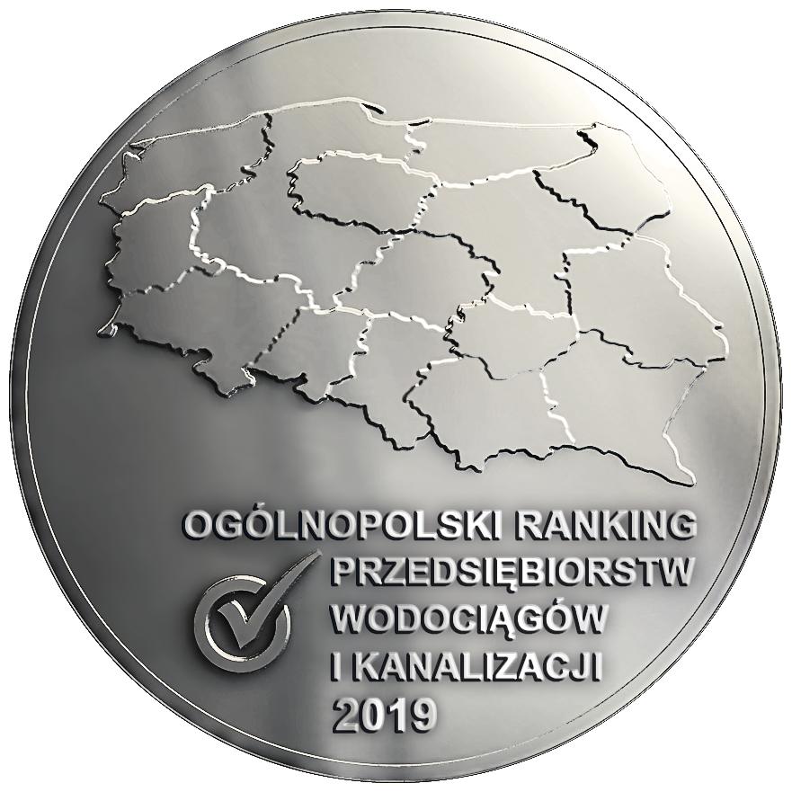 Ogólnopolski Ranking Przedsiębiorstw wod-kan na rok 2019